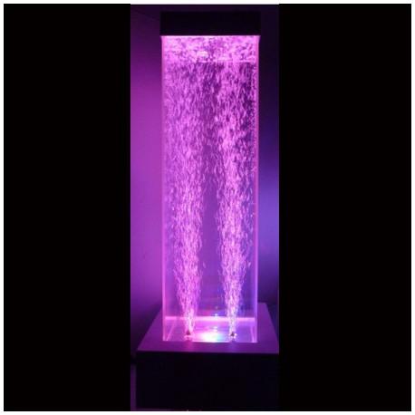 Colonne à bulles LED 80 cm