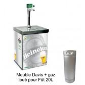 Meuble David - Pompe à Bière Fût 20L