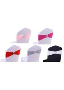 Bandeau de chaise strass (6 coloris)