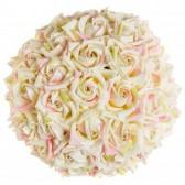 Boule de roses artificielles