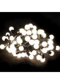 Guirlande lumineuse extérieure LED blanche
